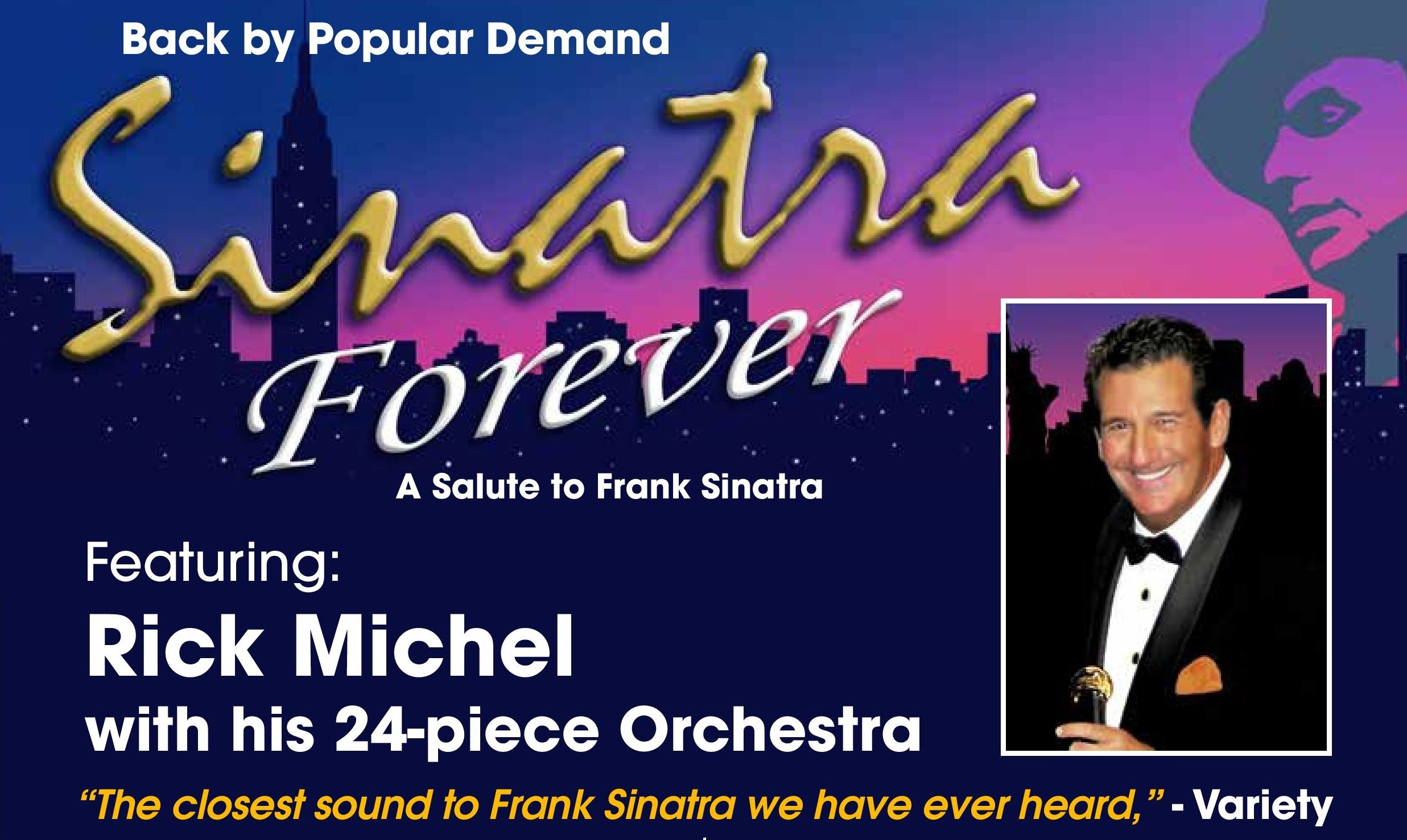 sinatra forever back by popular demand