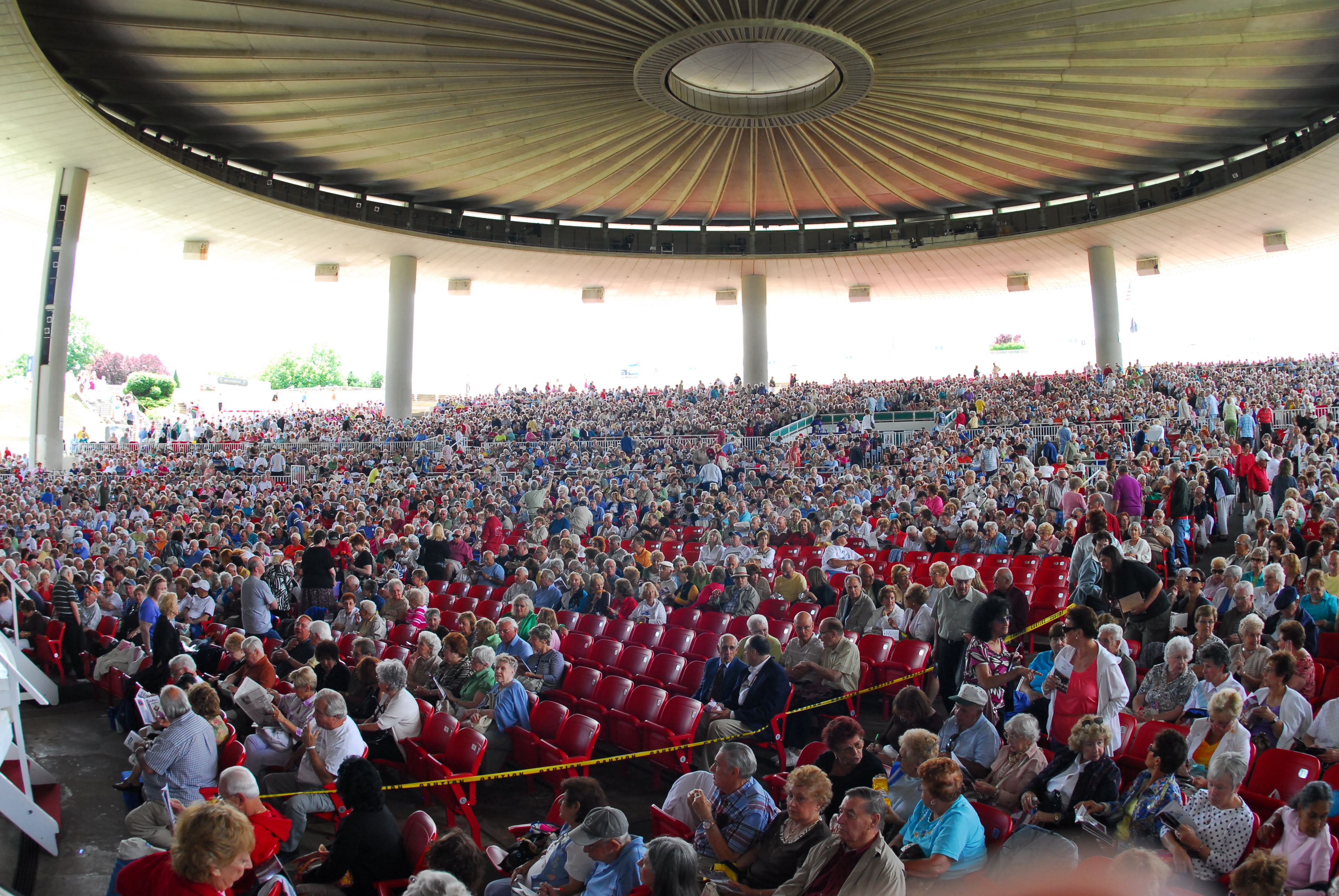 PNC Bank Arts Center Audience