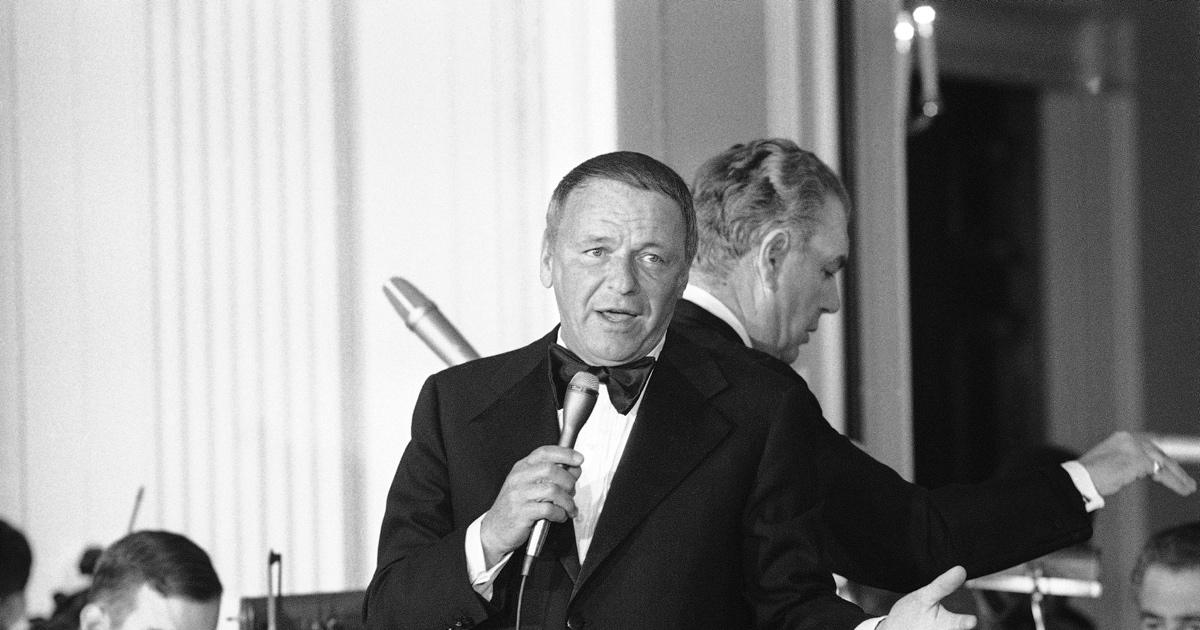 sinatra at the white house