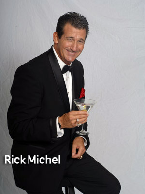 Rich Michel as Dean Martin in Frank & Dean Together Again